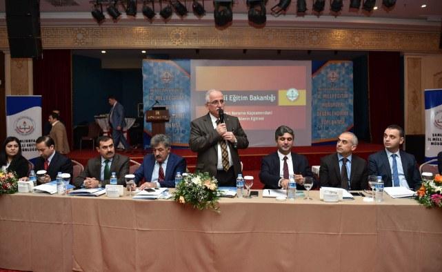 Vali Tuna'dan 21 il milli eğitim müdürüne çağrı