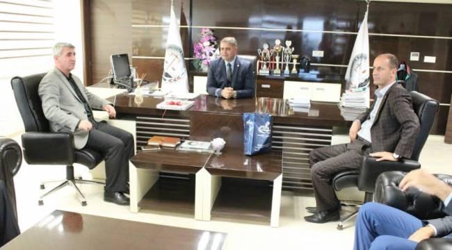 Yavuz'dan Baro Başkanı Tüysüz'e ziyaret