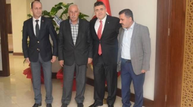 Yavuz'dan Emniyet Müdürü Tipioğlu'na ziyaret