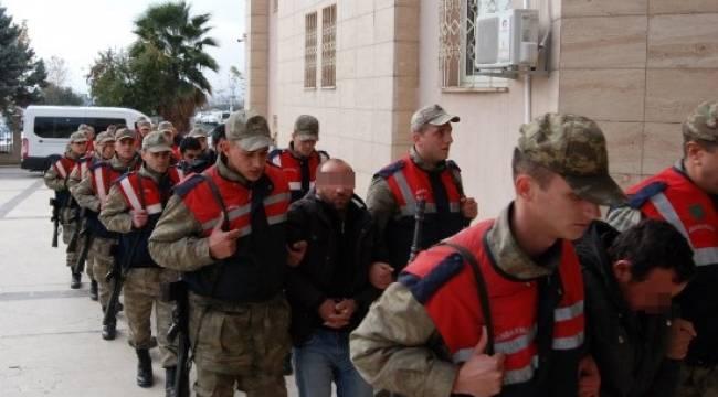 12 PKK zanlısı adliyeye sevk edildi