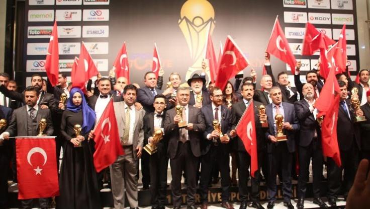 15. Türkiye Spor Ödülleri sahiplerini buldu