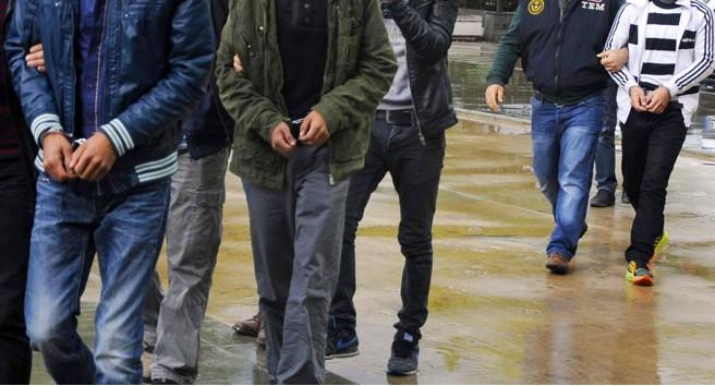 28 İl'de 568 Kişi gözaltına alındı