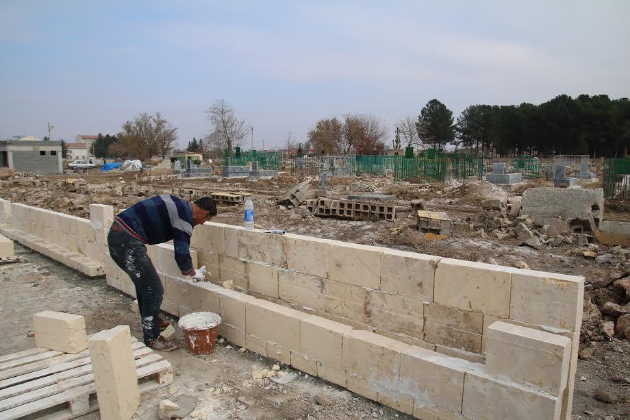 5 İlçe'nin mezarlıkları onarılıyor