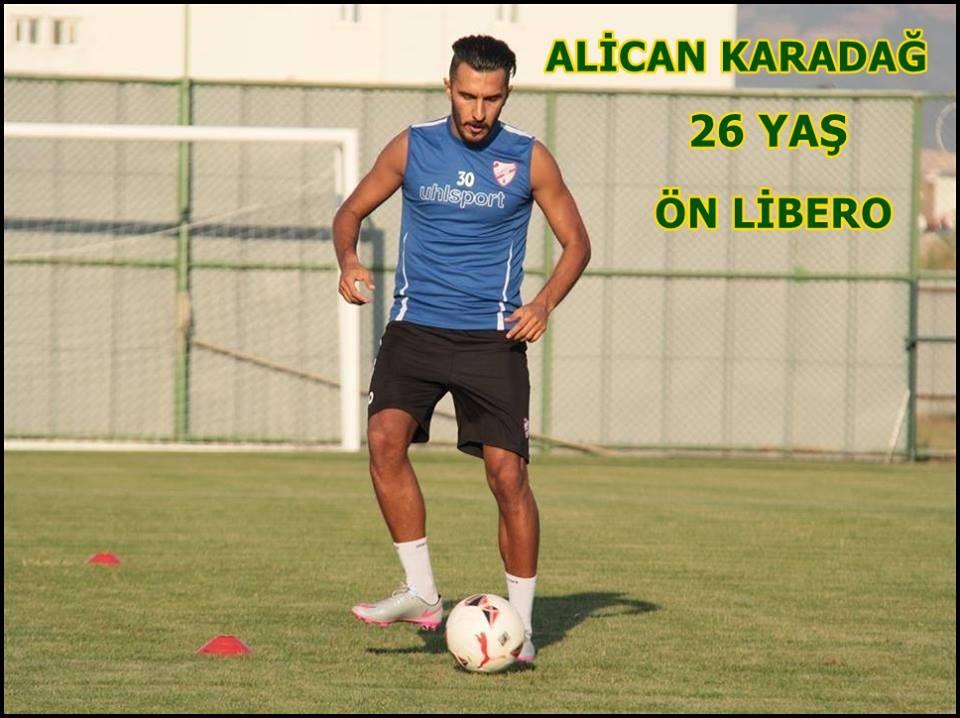 Alican Karadağ'la yollar ayrıldı