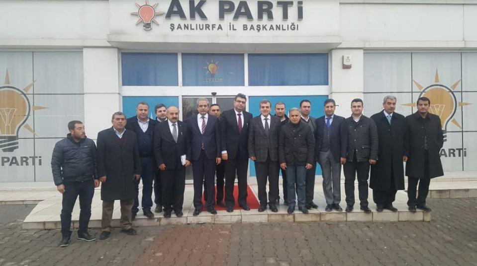 Bakan Yardımcısı'ndan AK Parti Şanlıurfa İl Başkanlığına Ziyaret