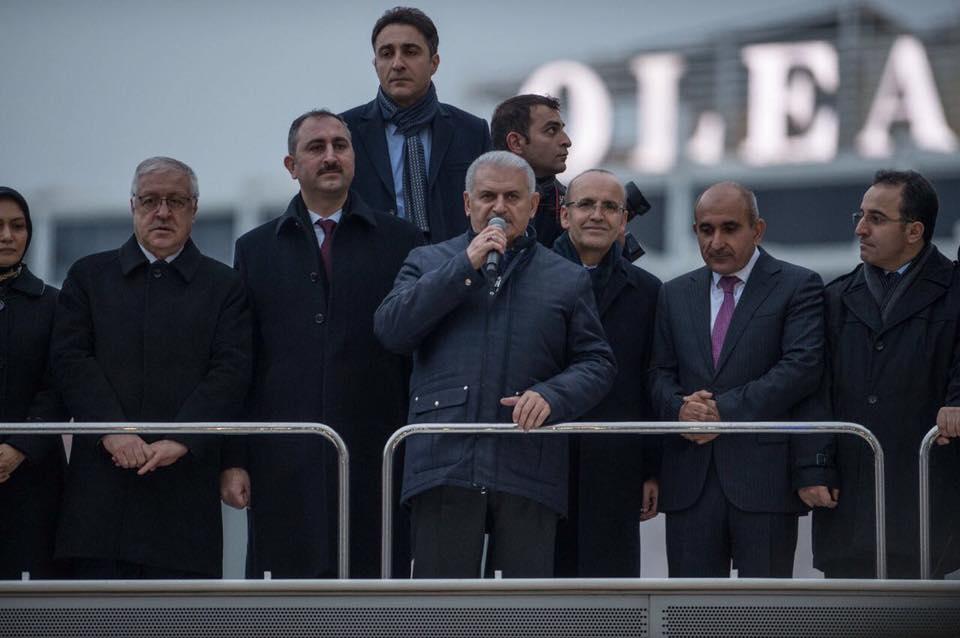 Başbakan Yıldırım,bizim için Urfa neyse Halep de odur