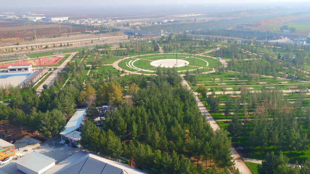 Daha Yeşil Bir Şanlıurfa için 500 bin m2'lik yeşil alan