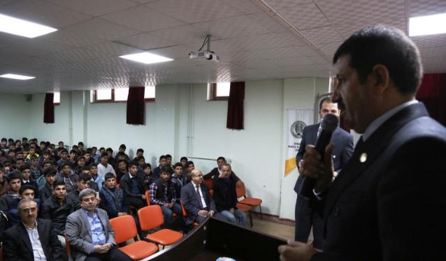 Ekinci,Anadolu İmam Hatip Lisesi öğrencileri bir araya geldi