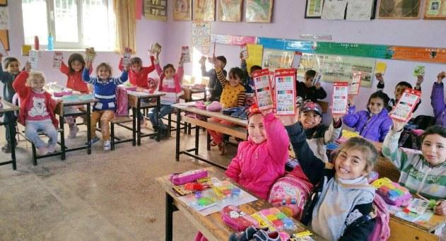 Gaziantep Üniversitesinden Göktepe İlkokulu destek