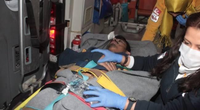 Halep'te 90'ı ağır 400 kişi yaralandı