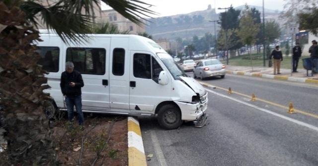 Haleplibahçe'de kaza