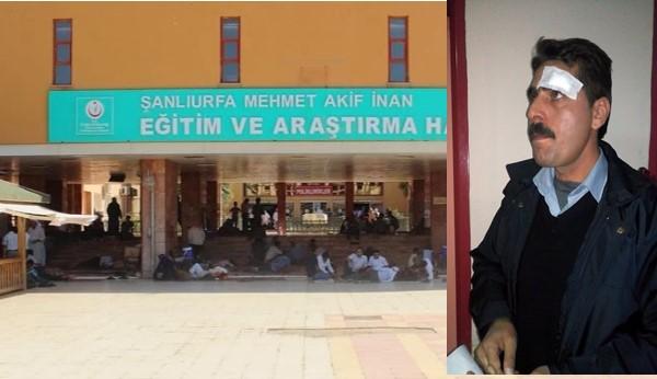 Hastane güvenlik görevlileri darp edildi