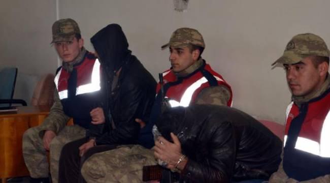 Kamyonların mazotlarını çalan kişiler tutuklandı