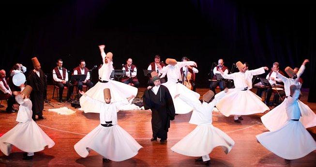 Konya Türk Tasavvuf Müziği Topluluğu Urfa'ya geliyor