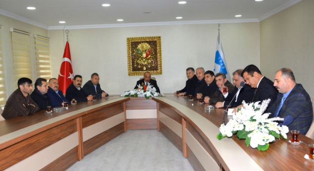 Mardin Derneklerinde Ceylanpınar Belediyesini ziyaret etti