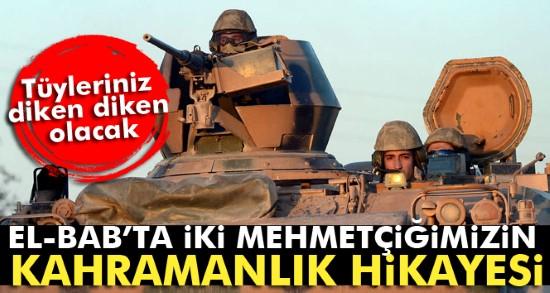 Mehmetçiğin kahramanlık destanı
