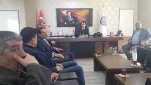MHP heyeti Bozova Kaymakamlığını ziyaret etti