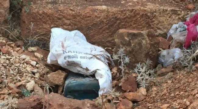 Polis saldırıyla ilgili 50 kilo patlayıcı bulundu