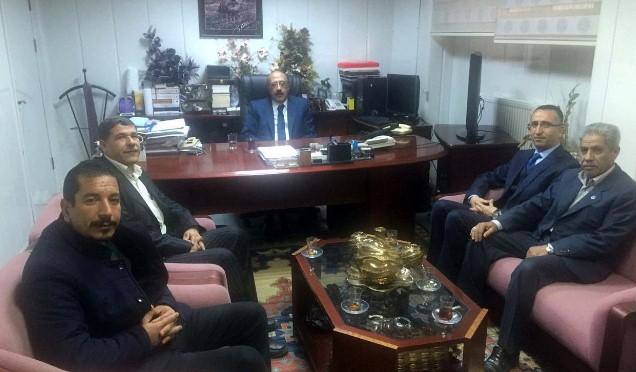 Prof. Dr. Mehmet Emin Yılmaz'a teşekkür ziyareti