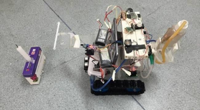 Robo-İtfaiye bilim şenliğine katılacak