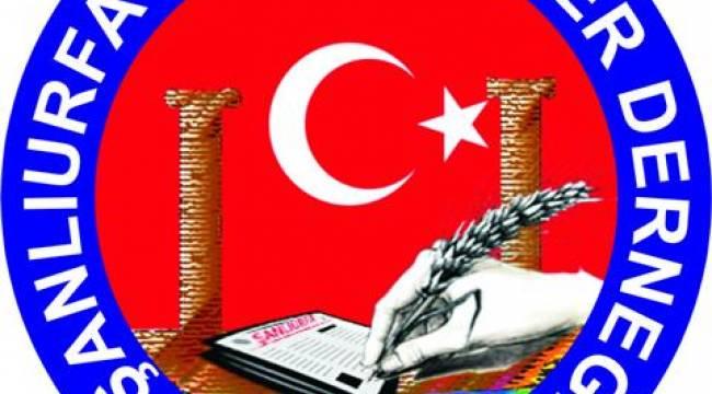 Şanlıurfa Gazeteciler Derneğinden teröre kınama