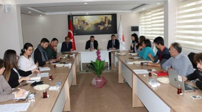 Urfa ASPİM uluslararası sivil toplum örgütleriyle bir araya geldi