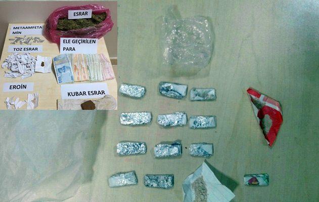 Urfa'da Uyuşturucu operasyonu, 3 gözaltı