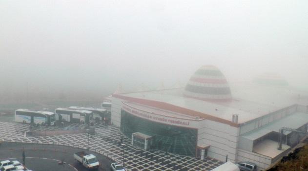 Urfa Güne Yoğun sis ile başladı