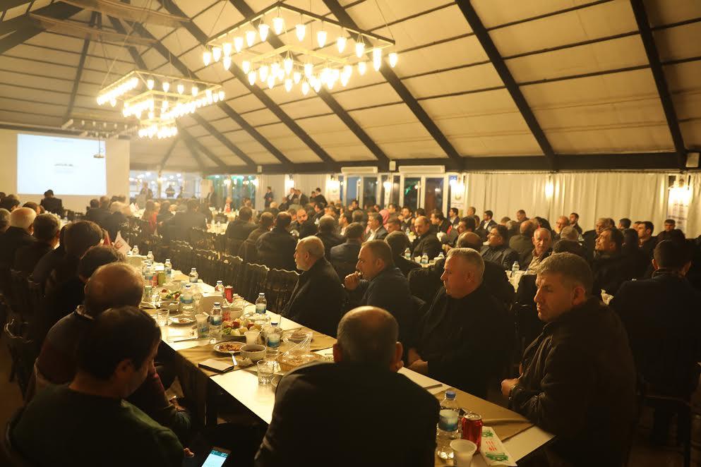 Urfa'nın İş adamları memlekete katkı için bir araya geldi