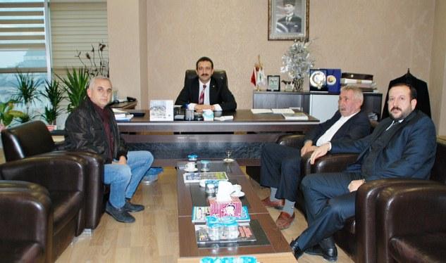 Urfaspor başkanından ŞUTSO Meclis başkanına ziyaret