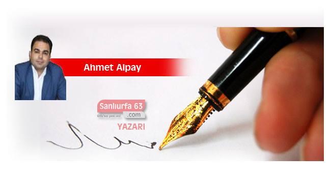 Ahmet Alpay Şanlıurfa 63 Haber'de