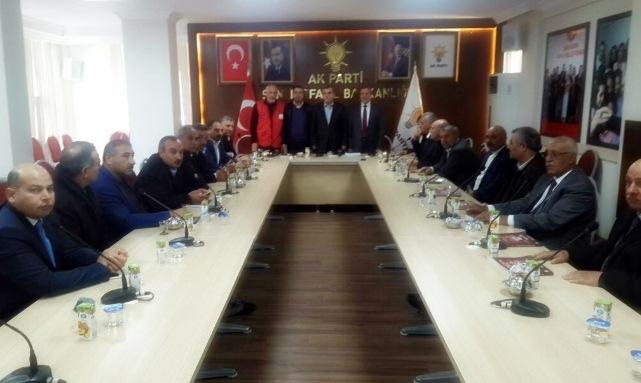 AK Parti Viranşehir ilçe başkanlığından Halep'e yardım