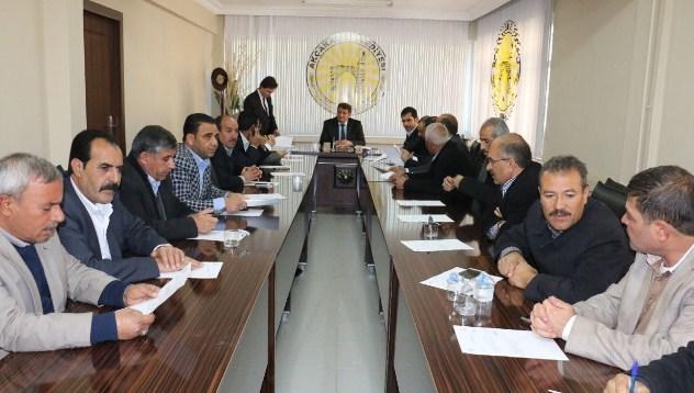 Akçakale Belediyesin'de Yılın ilk toplantısı yapıldı