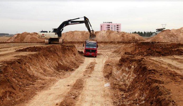 Akçakale Hükümet Konağının yapımına başlanıldı