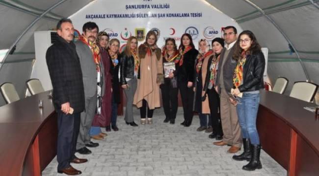 Akçakale, Yörük Türkmen kadınları ağırladı - Video