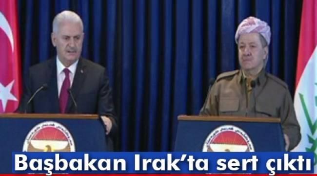 Başbakan'dan Erbil'de flaş PKK çıkışı