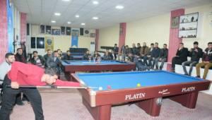 Bilardo Şampiyonasının bir ayağı Urfa'da olması gerekiyor