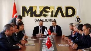 Cumhurbaşkanı Başdanışmanı Önen'den MÜSİAD'a ziyaret