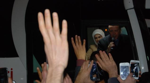 Cumhurbaşkanı Recep Tayyip Erdoğan Urfa'dan ayrıldı