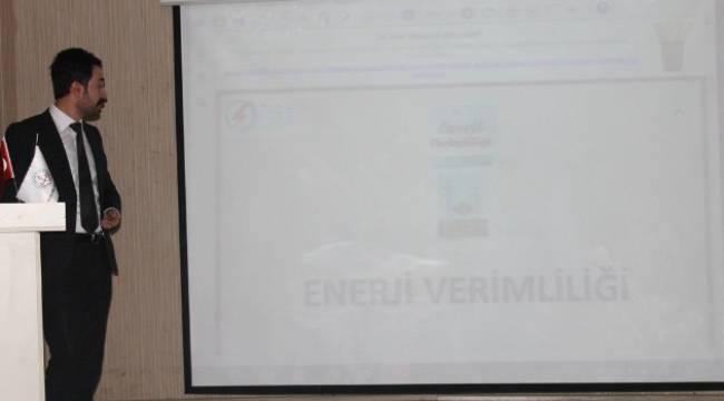 DEDAŞ Eyyübiye'de en ucuz enerjiyi anlattı