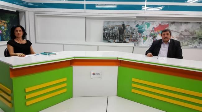 Duru TV'de medya'nın sorunlara ele alındı