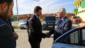 Fahri Başkan'dan Urfaspor'a ziyaret