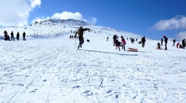 Karacadağ, kış turizminin gözdesi