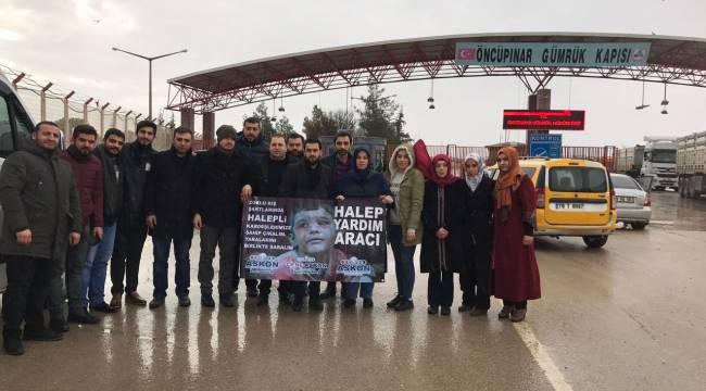 Halep'e bir yardım da Genç ASKON'dan