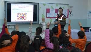 Halfetili Öğrencilere Trafik Eğitimi verildi