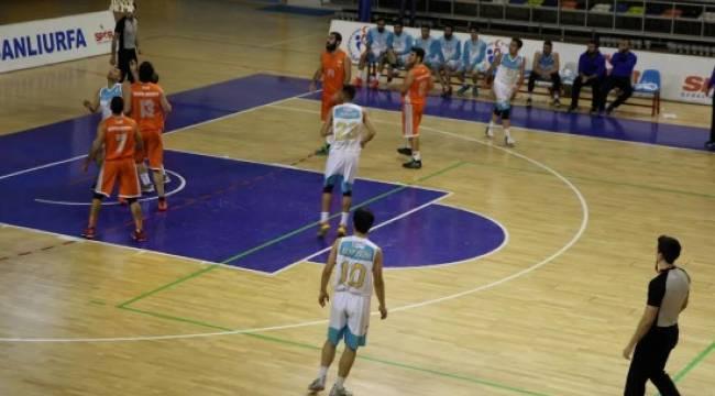 Haliliye basketbol takımı farklı kazandı (Video Haber)