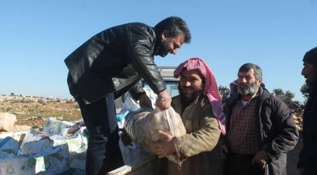 Haliliye'den Halep'e Kardeşlik Eli (Video)