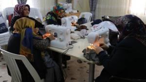 Haliliyeli Kadınlar Milli Eğitim onaylı sertifika alıyor