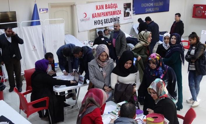 Kan Bağışına Şanlıurfa Ziraat Odası'ndan katkı