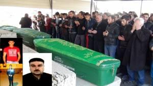 Kazada vefat eden Baba ve Oğulları toprağa verildi (Video)